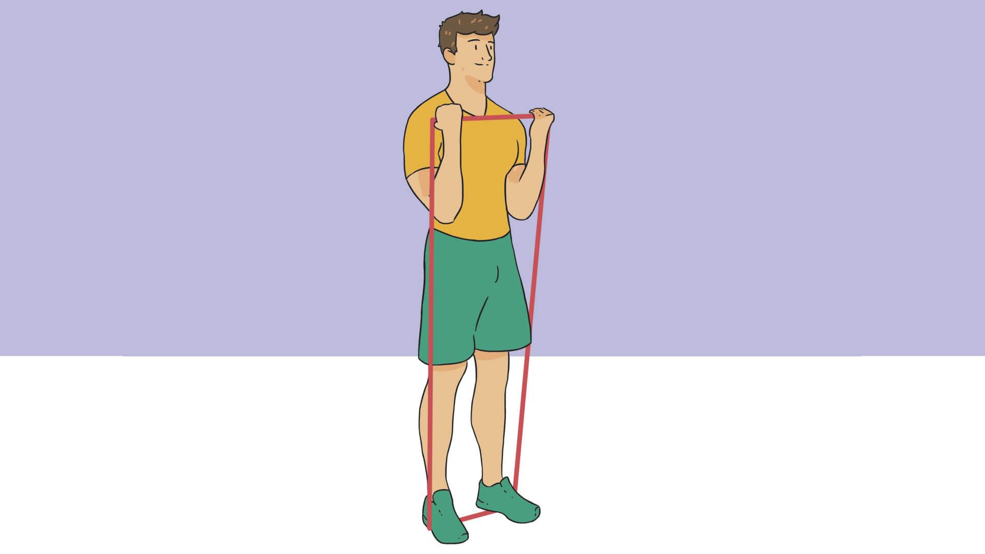 ganar musculo en casa