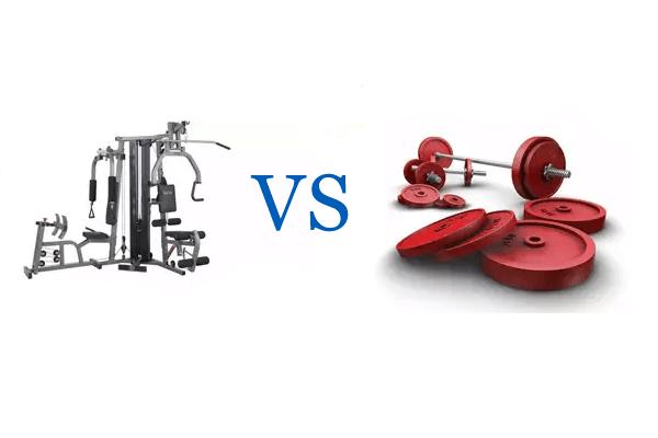 pesas o maquinas